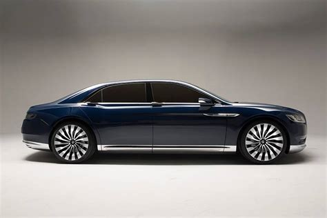 2015 lincoln concept the revived lincoln continental to showcase the future of