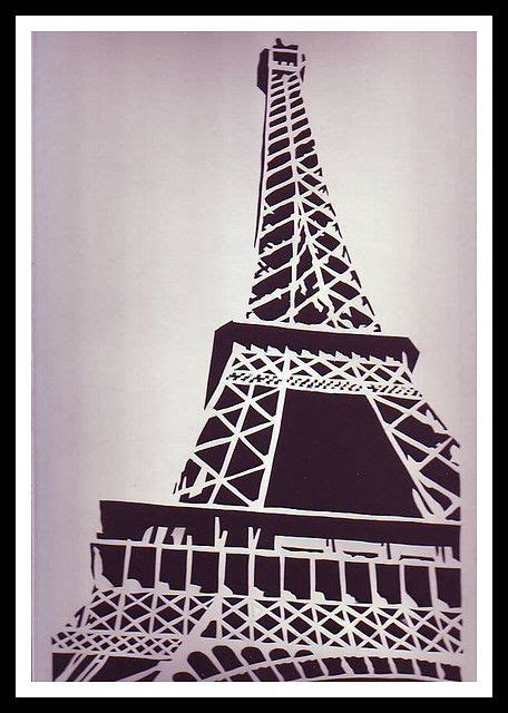 Eiffel Tower Papercraft - crafts about the eiffel tower