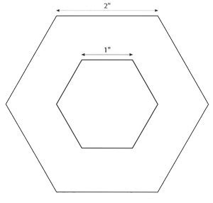 hexagon templates for quilting free portable quilting for fabric florists stitch this the