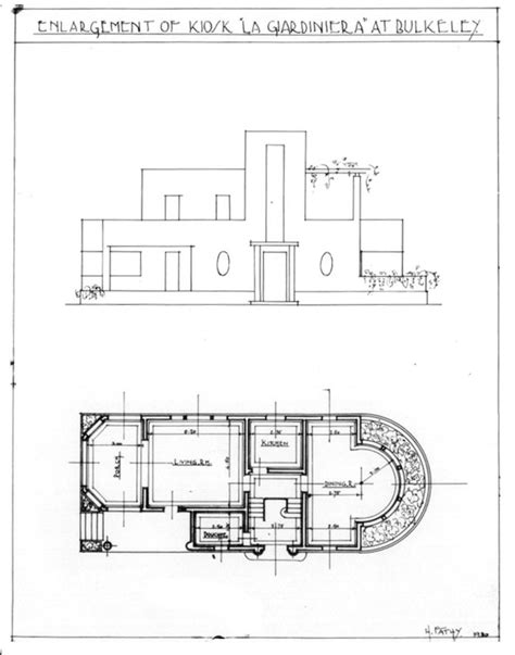 trsm floor plan kiosk la giardinara design drawing elevation and ground