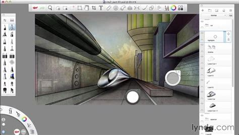 sketchbook pro record adding shadow and lighting effects