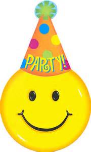 Birthday smiley face clipart clipart kid