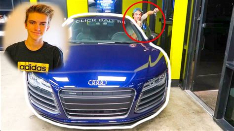 audi r8 tanner braungardt stole tanner braungardt s clickbait r8 supercar youtube