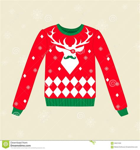 christmas jumper pattern vector free christmas ugly sweater stock vector image of pirate