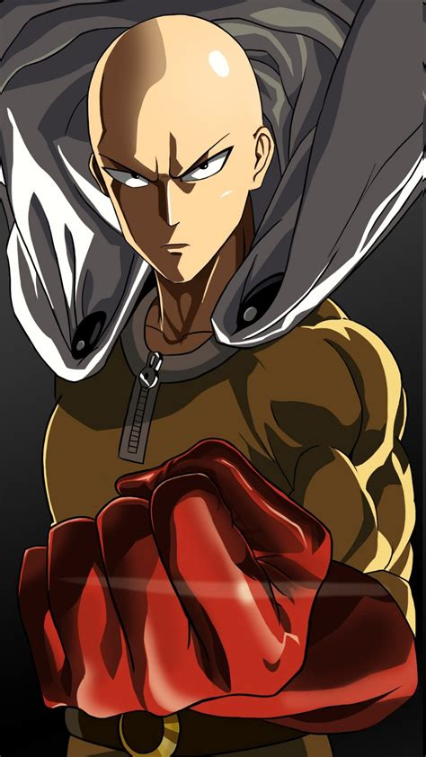 wallpaper iphone 6 one punch man anime gloves one punch man saitama wallpaper 1440x2560