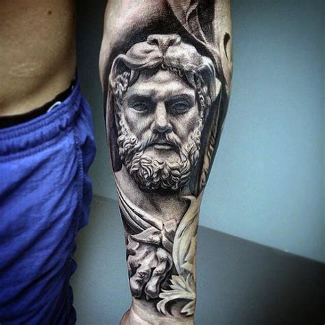 greek statue tattoo 25 best ideas about hercules on