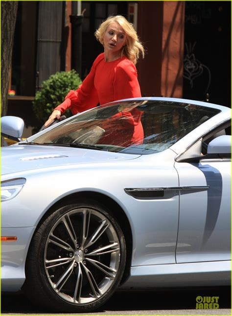 Cameron Diaz Laughs All The Way To Car by The Counselor The Counselor Car
