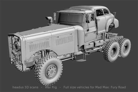 Mad Max Layout headus 3d home