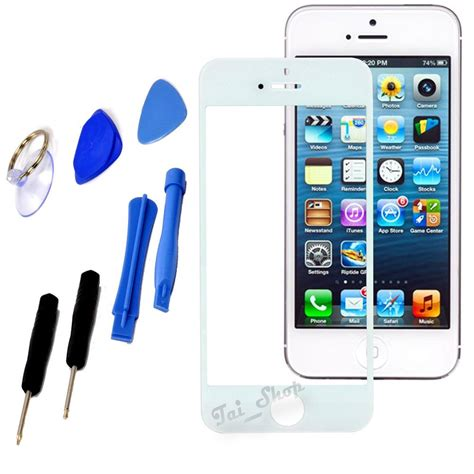 white replacement lcd screen glass lens kit for iphone 6 plus iphone 6s plus ebay