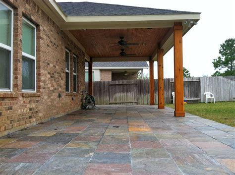 Patio Covers Deer Park Tx Patio Cover In Houston Tx Hhi Patio Covers