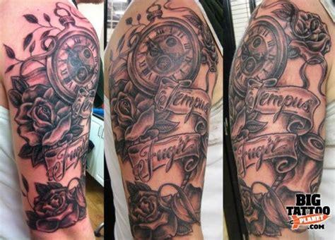 tempus fugit tattoo designs tempus fugit