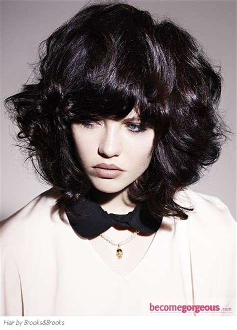 medium shaggy haircuts for thick hair pictures medium hairstyles