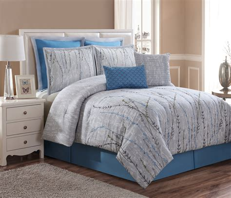 home comforts bed and bath 8 piece alette embroidered comforter set home bed