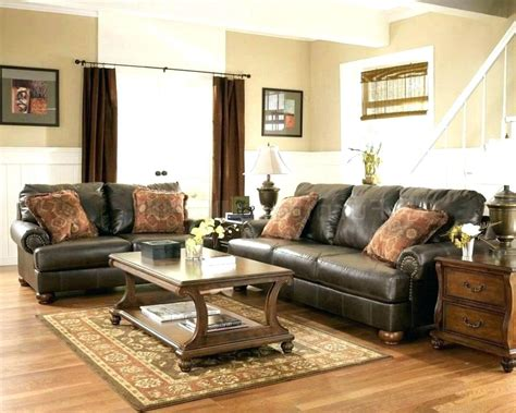 colour schemes to match brown leather sofa www