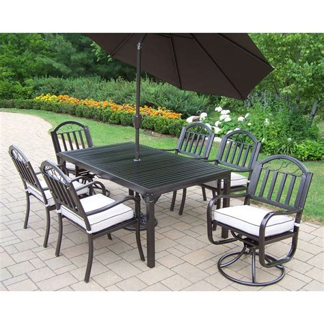 Patio Dining Sets Impressive Wrought Iron Patio Dining Sets 4 Living 7 Cushioned Wrought Iron Patio Dining