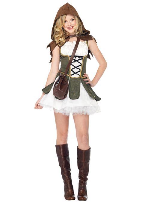 Halloween Costumes For Teen Girls | teen girls robin hood costume