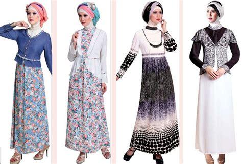 Baju Muslim Modern 2015 Contoh Model Baju Muslim Modern 2015