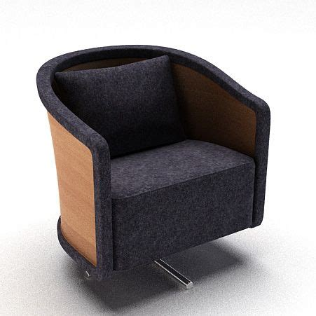 dark grey armchair dark grey armchair 3d model cgtrader com