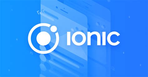 ionic modal tutorial build amazing native apps and progressive web apps with