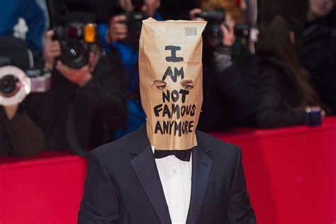 this is not fame a from what i re memoir books shia labeouf wears a paper bag on his to the premiere