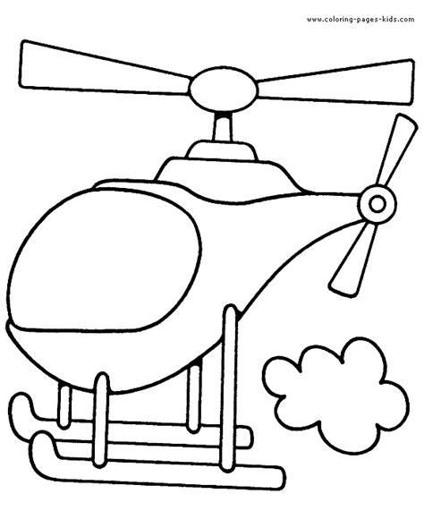 helicopter color page free printable coloring sheets for