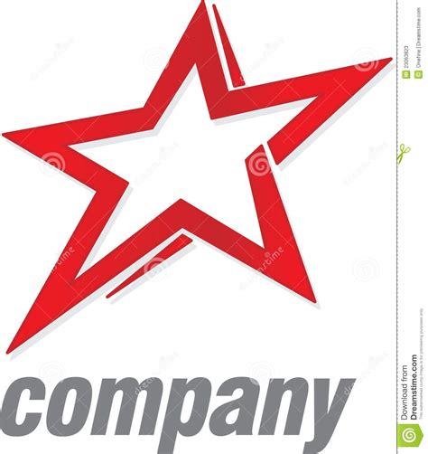 stock photo company logo red star stock photos image 23063823
