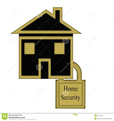 home security concept stock photos image 29170233