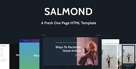 themeforest split licence salmond a fresh one page wordpress theme by themestrace