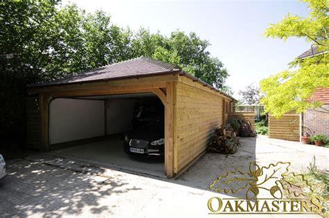 2 bay garage 2 bay garage and garden room in sussex oakmasters