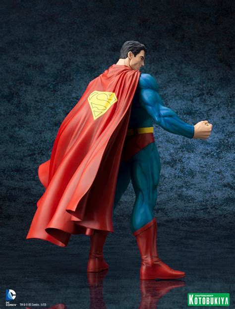 Kotobukiya Artfx Statue Superman kotobukiya s dc comics superman for tomorrow artfx statue the toyark news