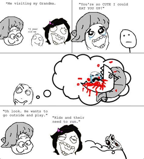 Meme Vs Rage - image 289261 omg run guy ton head rage face