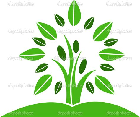 tree logo vector free tree logo clipart