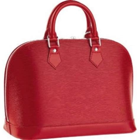 Galerry louis vuitton bags louis vuitton epi leather handbags alma red louis