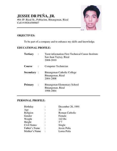 Professional Resume Format Doc Free by Professional Resume Format Doc Cover Letter