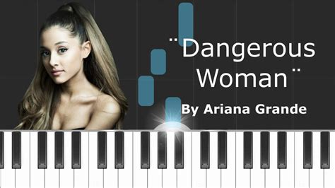 tutorial piano dangerous ariana grande quot dangerous woman quot piano tutorial chords