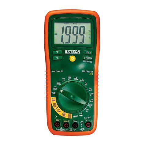 Multimeter Manual digital multimeter manual ranging u40165 extech ex410 held digital measuring