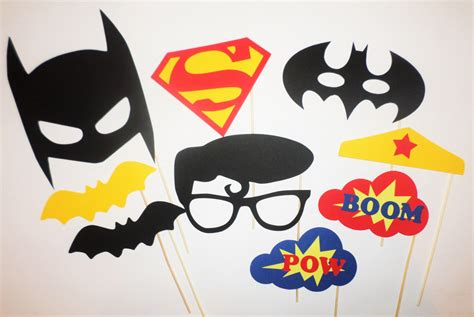 printable photo booth props batman superman batman vs superman photo booth prop batman