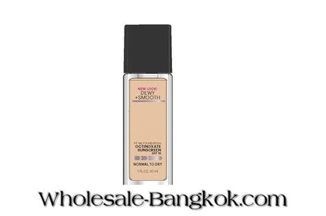Maybelline Fit Me Dewy And Smooth maybelline fit me dewy smooth octinoxate sunscreen jpg