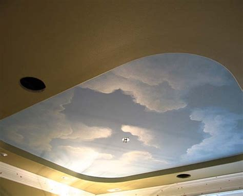Clouds On Ceiling by Cloud Ceiling Murals And Painted Phrases Paradise Studios