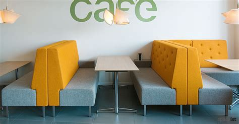cafe couches modular sofas high back booth seating