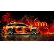 Audi A6 Avant Quattro Fire Abstract Car 2014 Hd Wallpapers