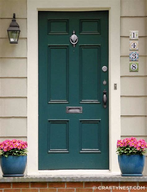 Exterior Door Numbers 35 Creative Diy House Numbers That Are Better Than Anything You Could Buy Diy