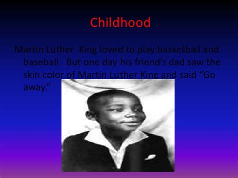 mlk biography quick facts image gallery mlk childhood