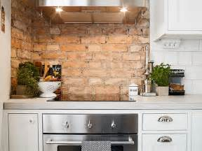 wall ideas for kitchen 28 exposed brick wall kitchen design ideas home tweaks