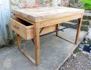 antique french work table of kitchen island c1700 s now in french industrial work bench kitchen island antiques atlas