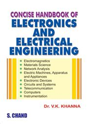 a concise handbook of mathematics physics and engineering sciences books concise handbook of electronics and electrical by dr