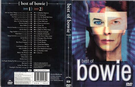 bowie best of jaquette dvd de best of bowie cin 233 ma