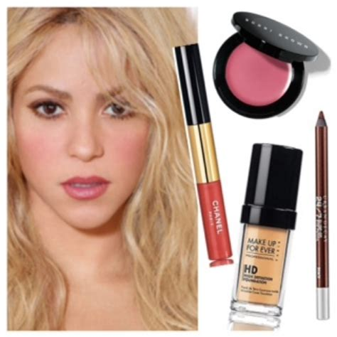 lipstick wore by shakira on commercial how to shakira s new album cover makeup tiffany lumpkin