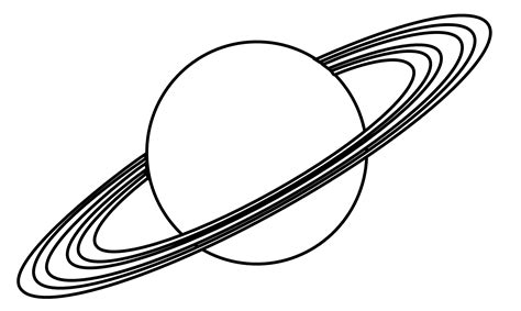 Planet Saturn Clipart Pics About Space Saturn Coloring Pages