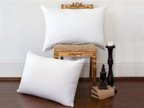 luxury bed pillows estate pillows by st geneve luxury bedding